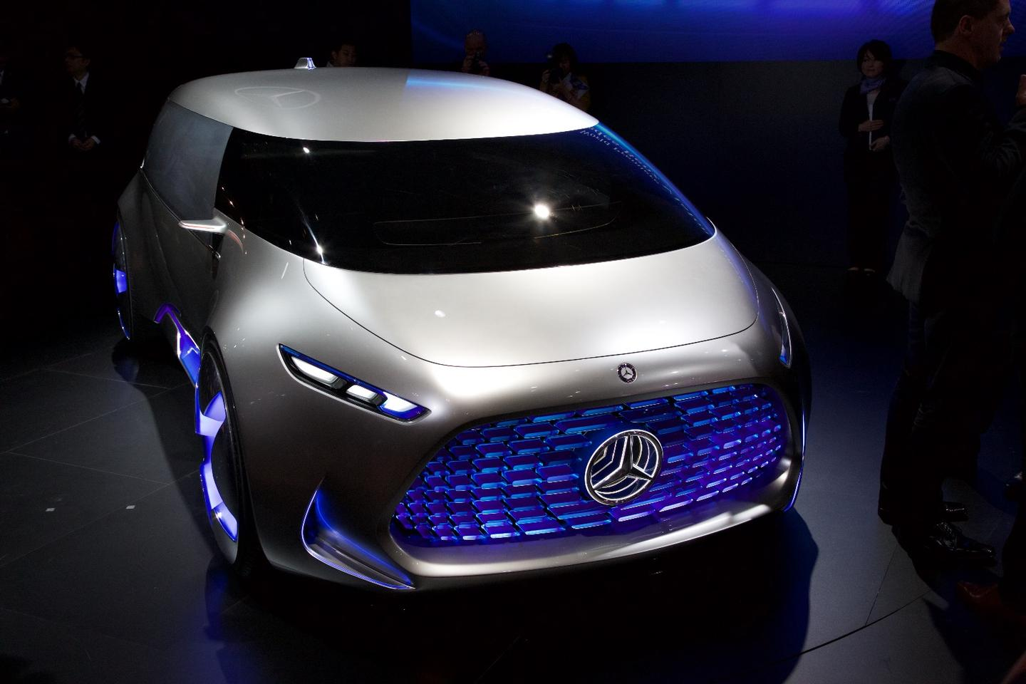 Mercedes-Benz Vision Tokyo at the 2015 Tokyo Motor Show