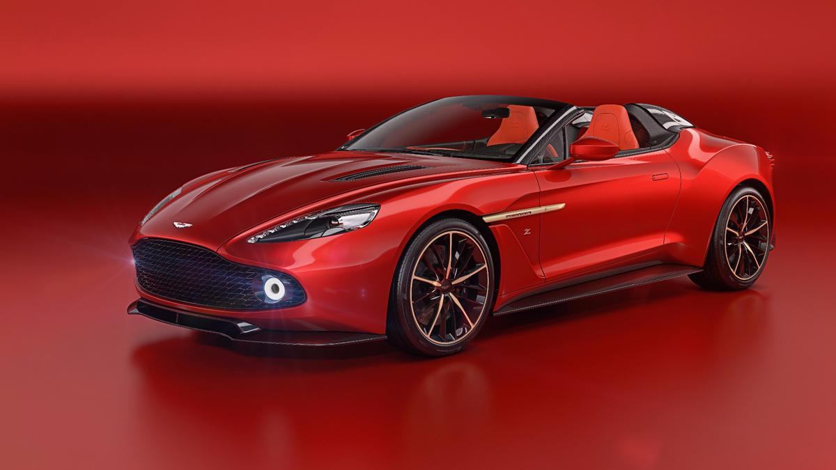 The Speedster has twin cowls on the rear deck, in an attempt to evoke the classic Zagato double bubble roof