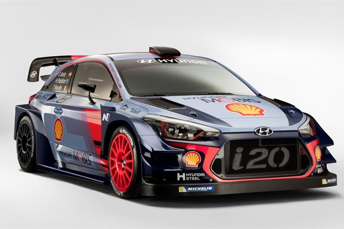The Hyundai i20 Coupe will take on theWorld Rally Championship in 2017