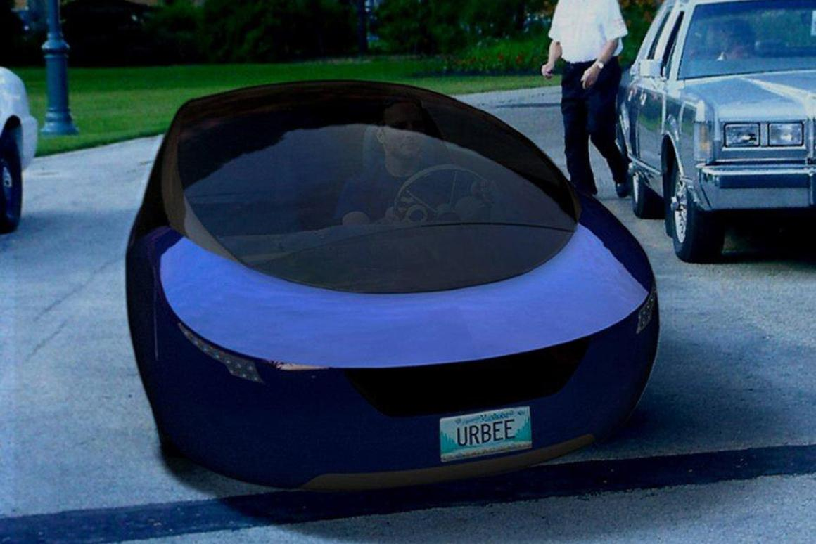 The Urbee's entire body was 3D printed (Image: Kor Logic)