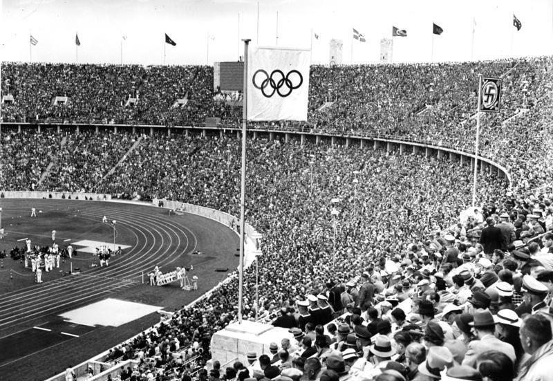 The 1936 Summer Olympics in Berlin were the first to betelevised