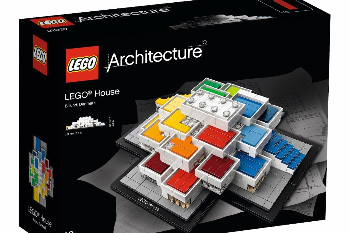 The Lego Housekit will be available exclusively from the firm's new starchitect-designedheadquarters inBillund, Denmark,from September 28