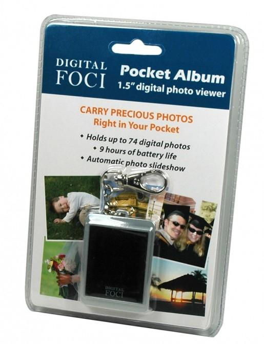 Pocket Album digital keychain photo viewe