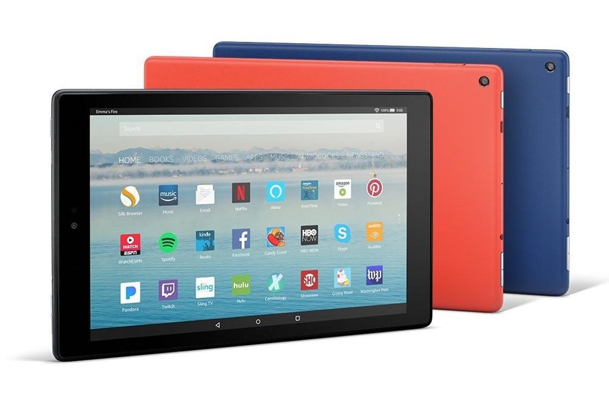Amazon has unveiled a new version of theFire HD 10 tablet, with more powerful components and hands-freeAlexa control