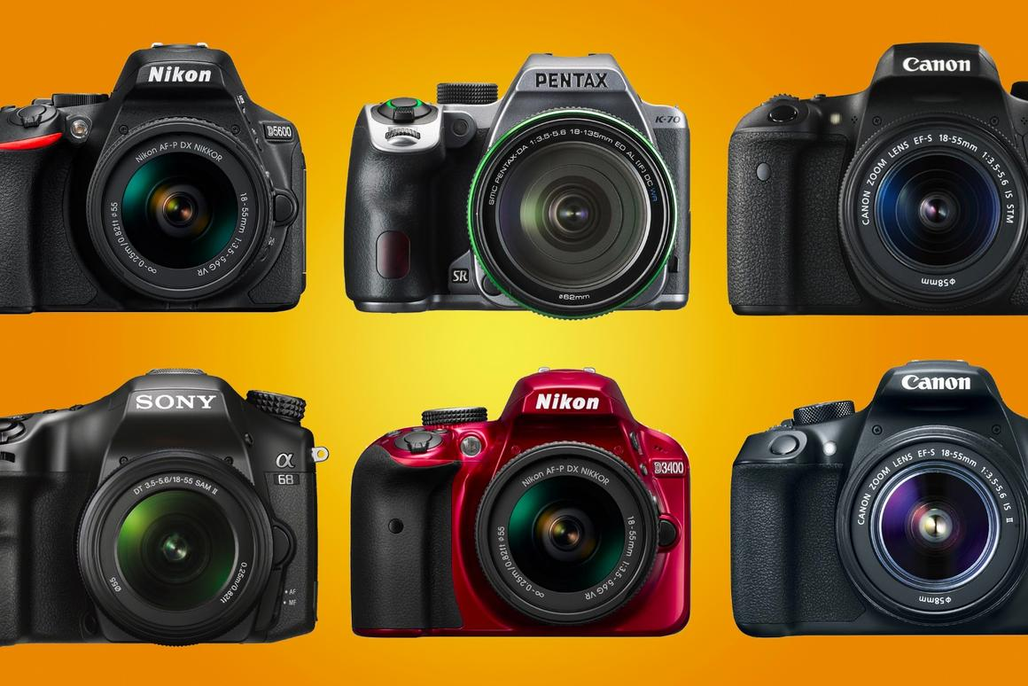 The best DSLR cameras for beginners