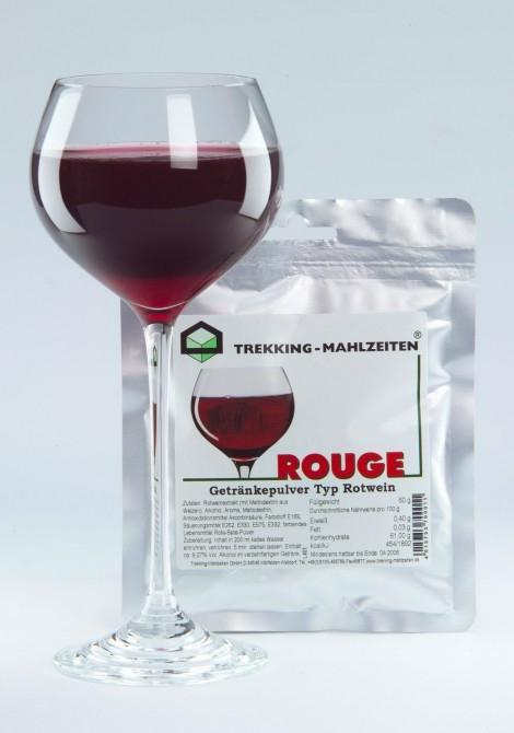 Rouge - alcohol for those who need to carry it a long way before drinking it