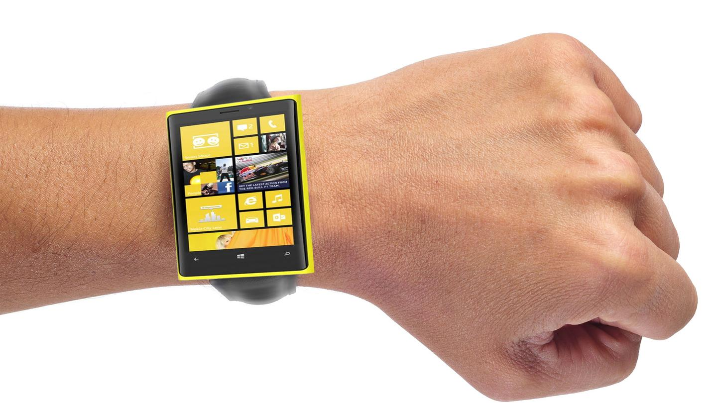 Microsoft is reportedly joining the (quickly growing) party of companies developing a smartwatch (Wrist image: Shutterstock)