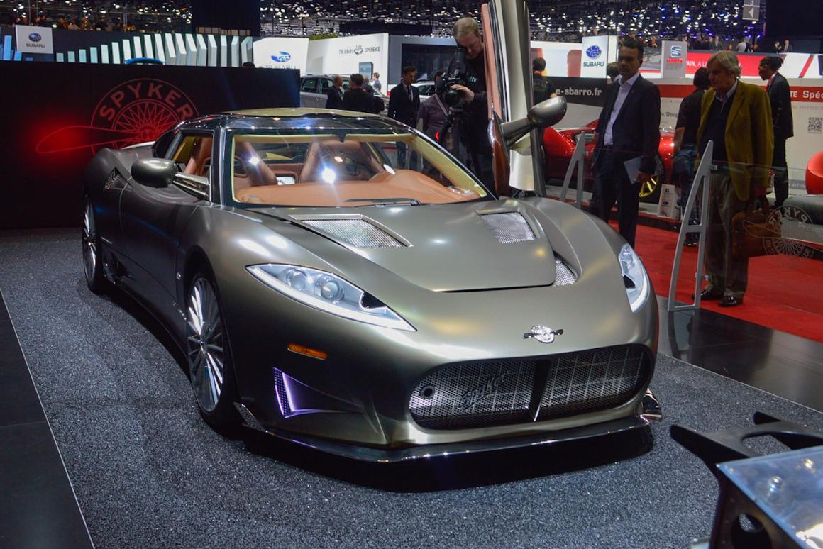 The exterior design of the Spyker C8 Preliator is all about aircraft