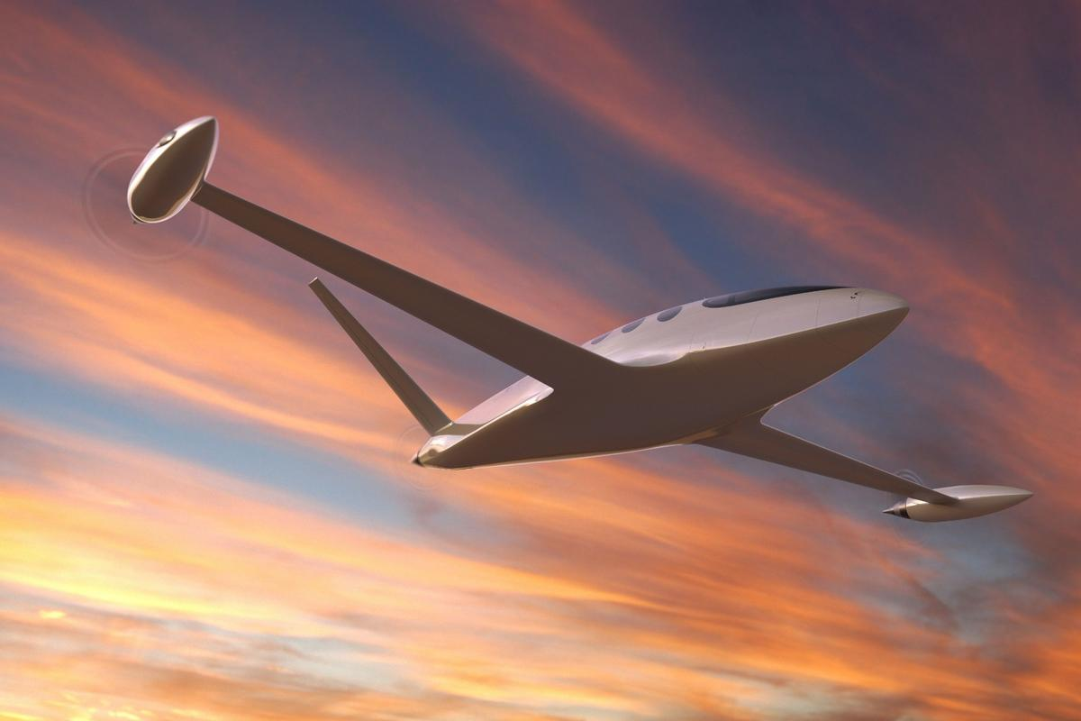 What role can electric aircraft, like Eviation's Alice, play in an environmentally friendly future for air travel