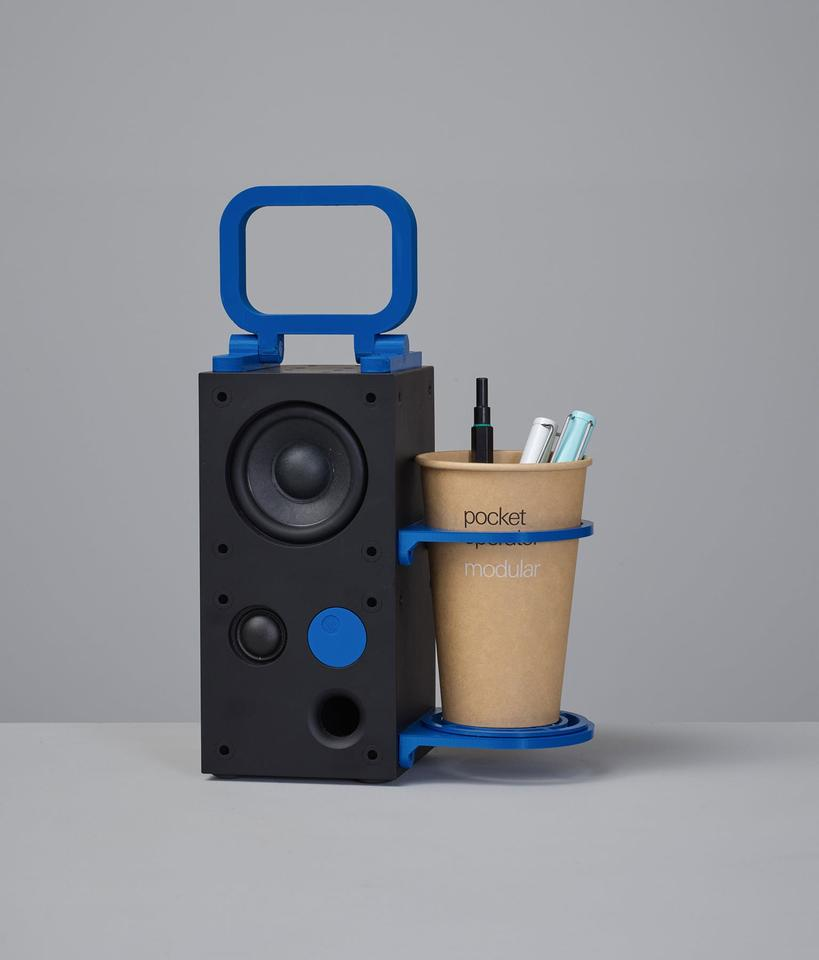 The Frekvens Hacks include CAD files for 3D-printed handles and a coffee holder