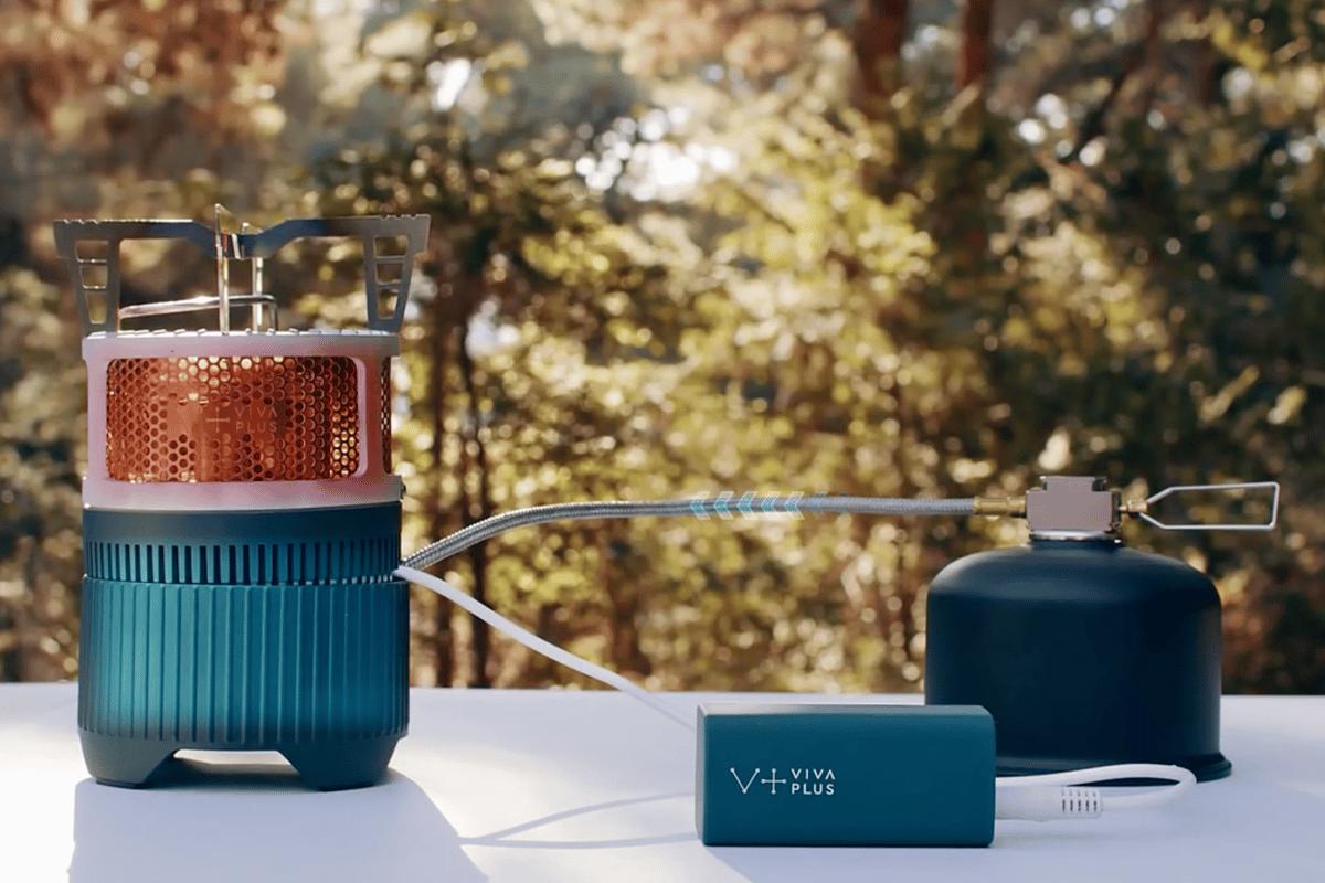 Unlike wood/biomass stove chargers, the Viva Plus Gen Stove uses LPG
