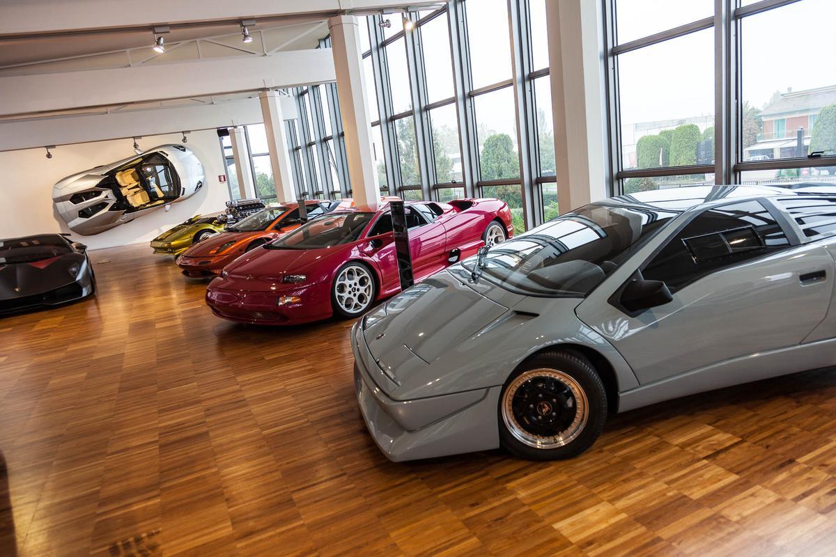 Lamborghini Museum, Sant'Agarta, Italy (Photo: Loz Blain/Gizmag.com)