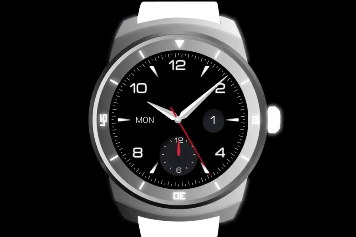 LG is set to announce a smartwatch with a fully circular display