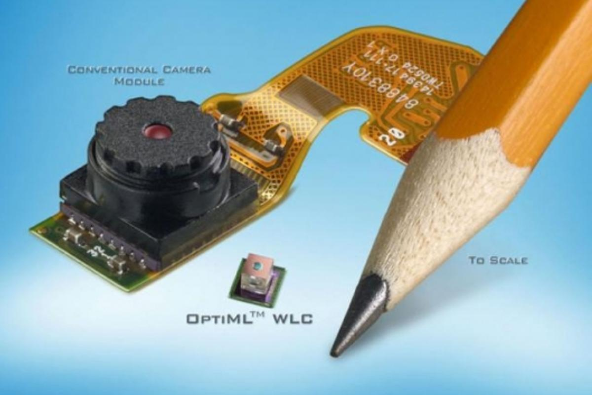 Tessera's OptiML camera technology: smaller, cheaper, better.
