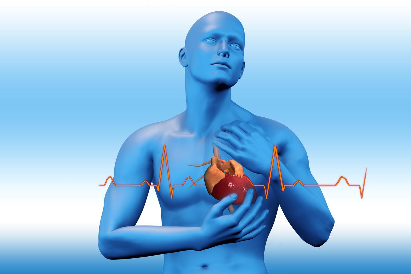 An injection of polymer nanoparticles could save the lives of heart attack victims (Image: Shutterstock)