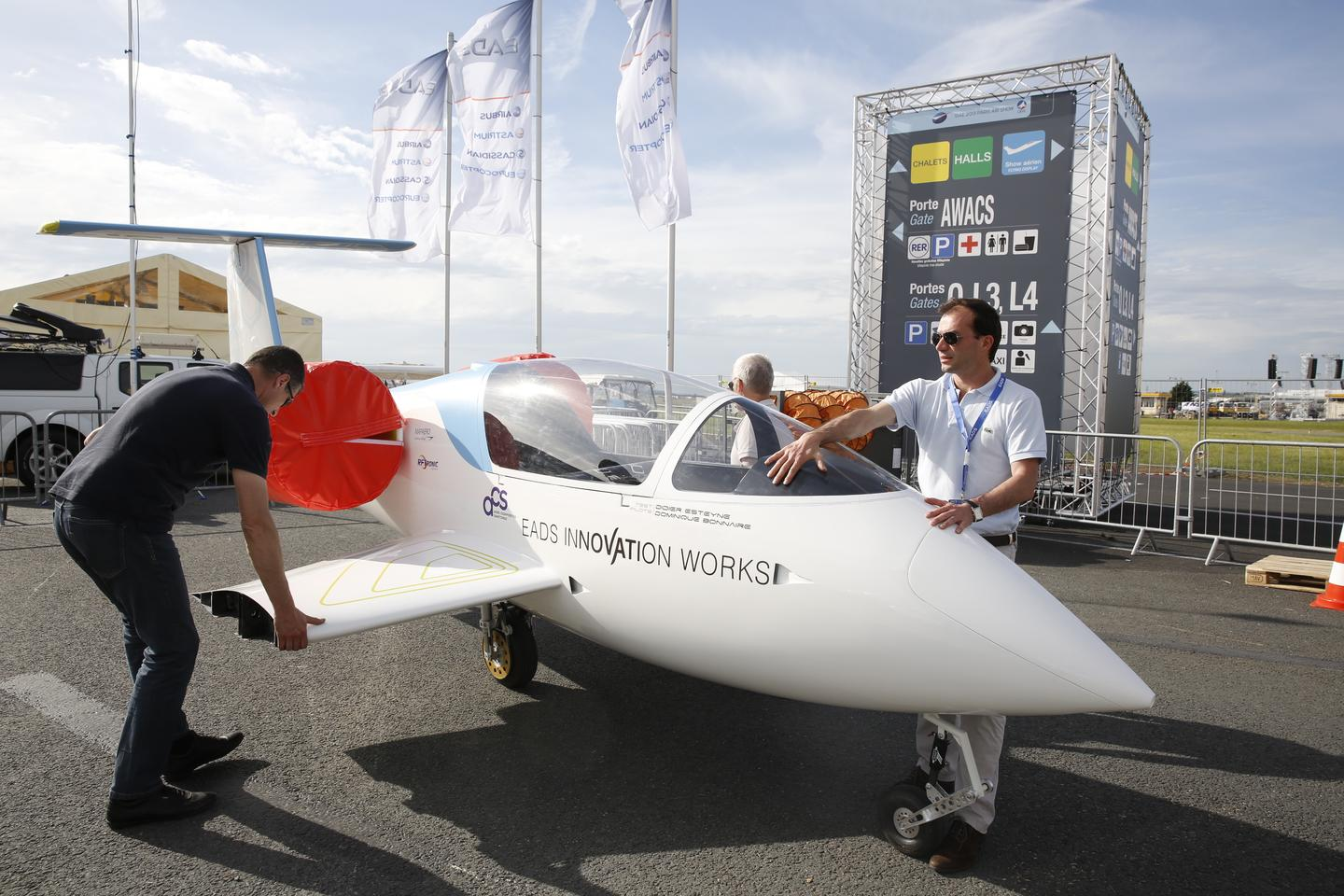 E-Fan at Paris Airshow 2013