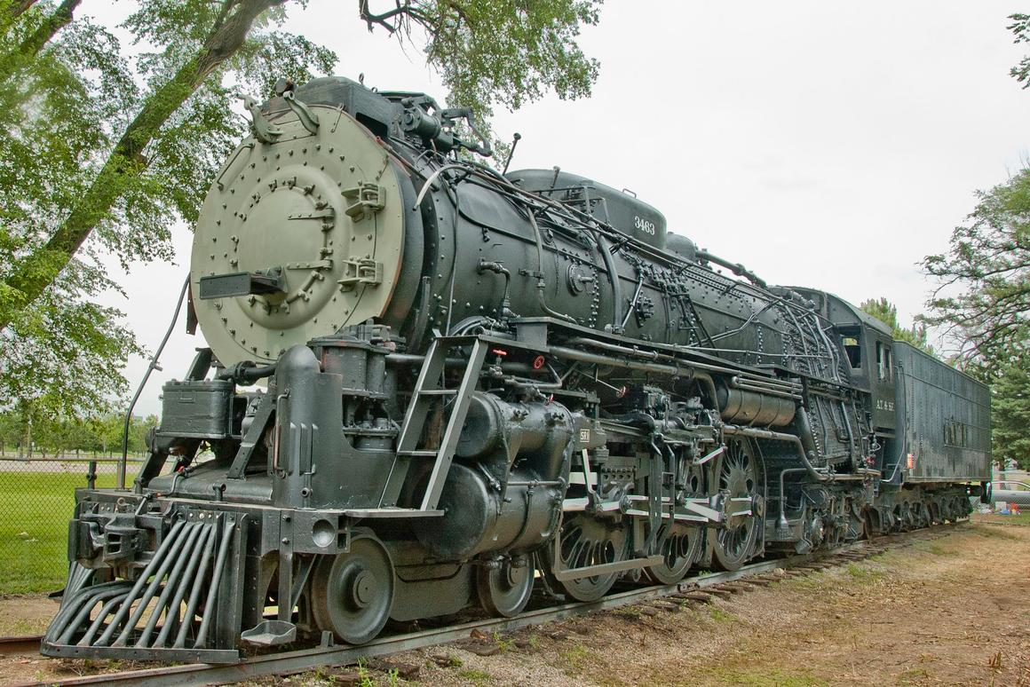 Locomotive 3463, the 75 year-old test bed locomotive for CSR's Project 130