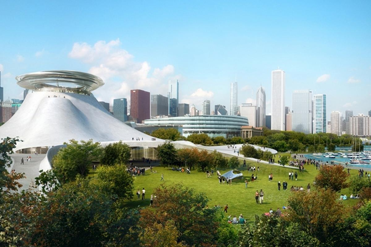 Designs for the Lucas Museum of Narrative Art have been revealed