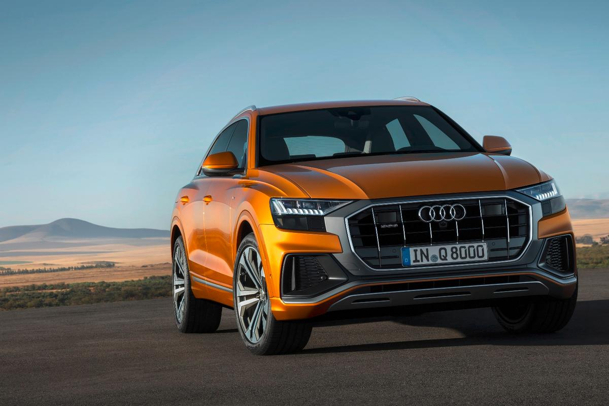 After years of concepts, Audi has finally revealed the production model Q8 SUV