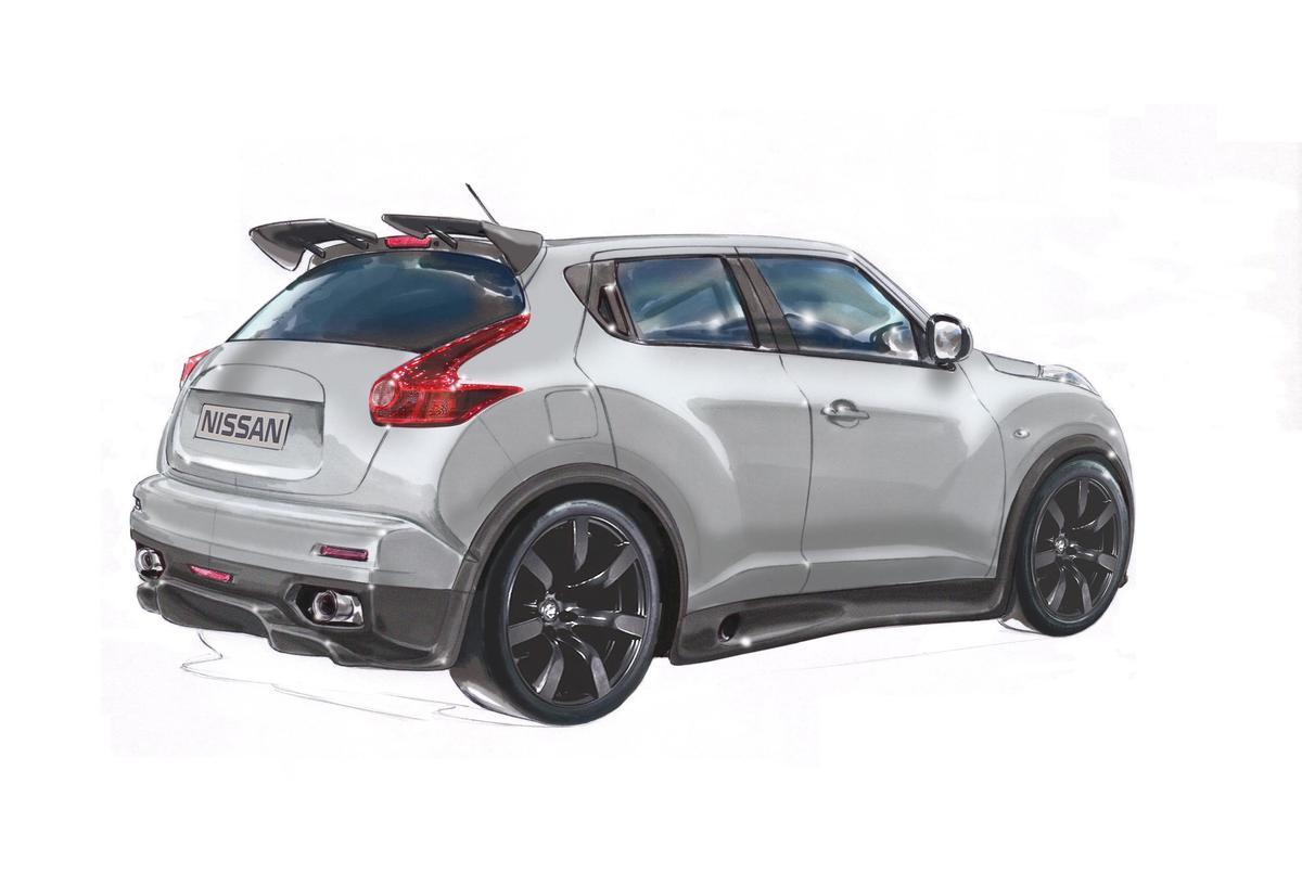 The Nissan Juke-R