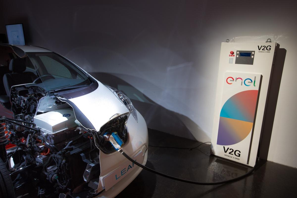 Nissan and Enel will conduct a UK trial of vehicle-to-grid technology