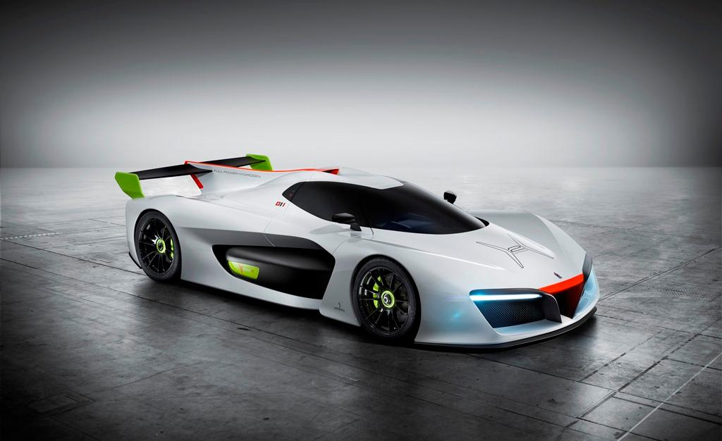 Pininfarina H2 Speed concept 3/4 view