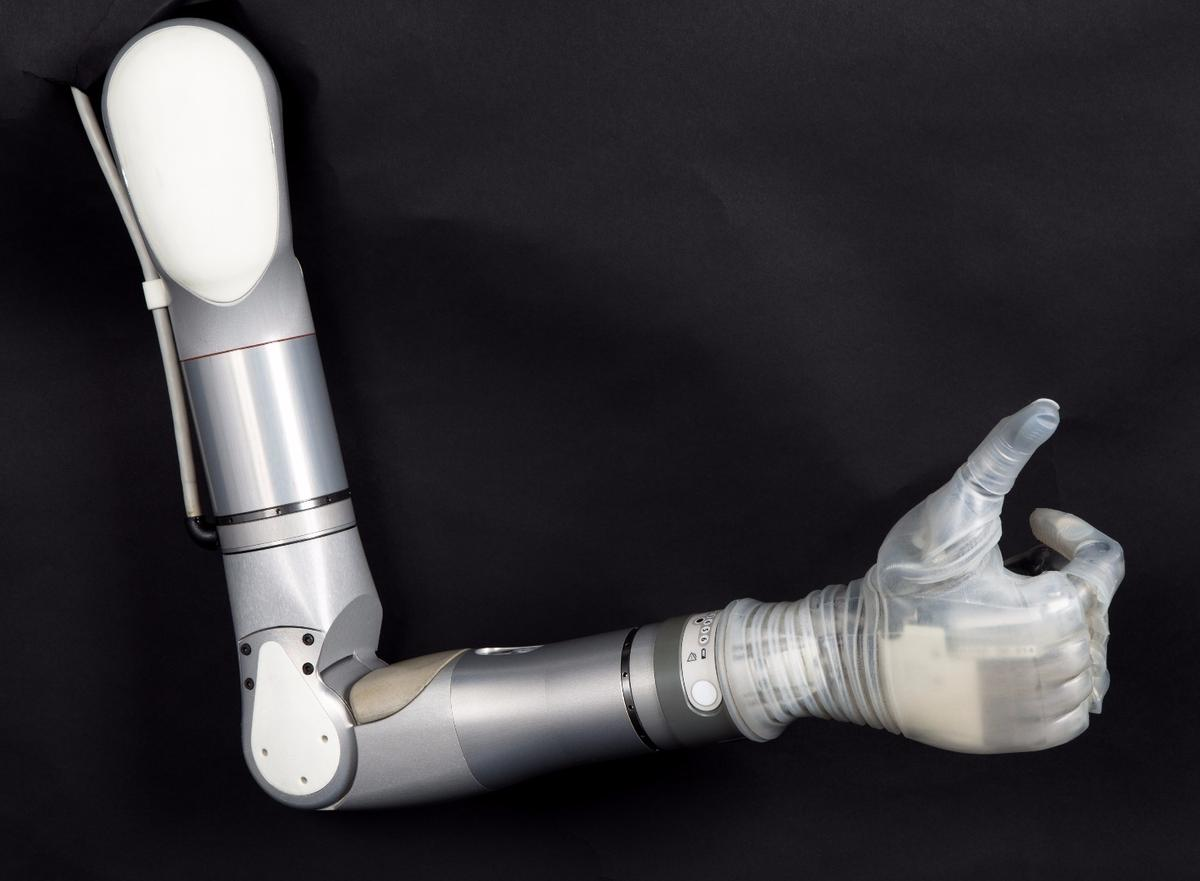 The LUKE arm will become available from medical providers later this year