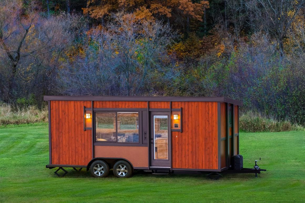 The Vista Boho has lots of optional extras available, including full off-grid functionality