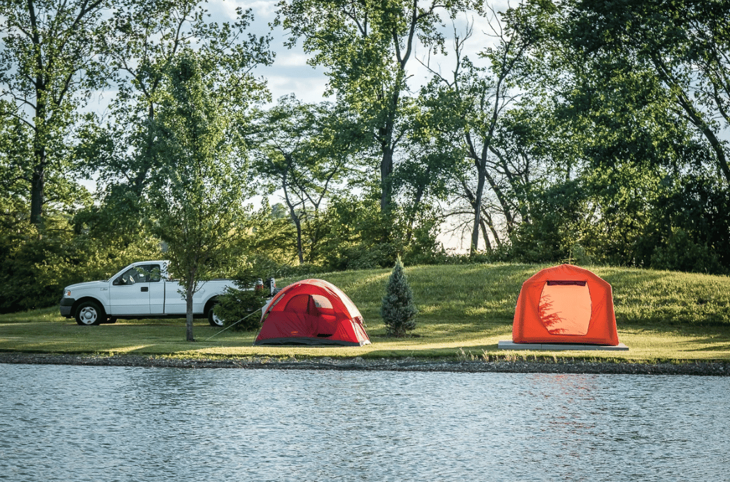 With its upright walls, the SmithFly Shore Tent should prove roomier than a dome tent