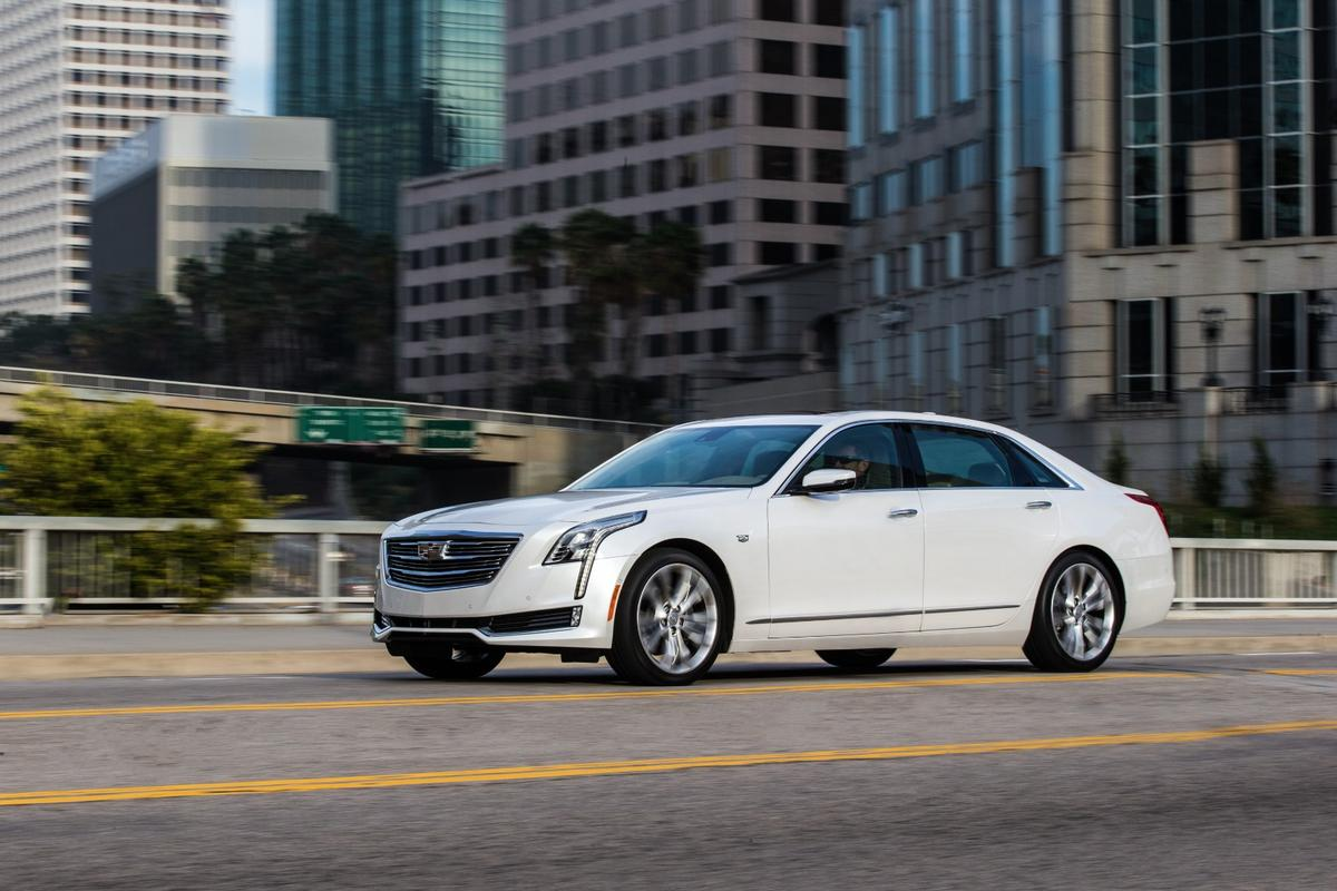 The Cadillac CT6 uses its surround view cameras to record goings on around the car
