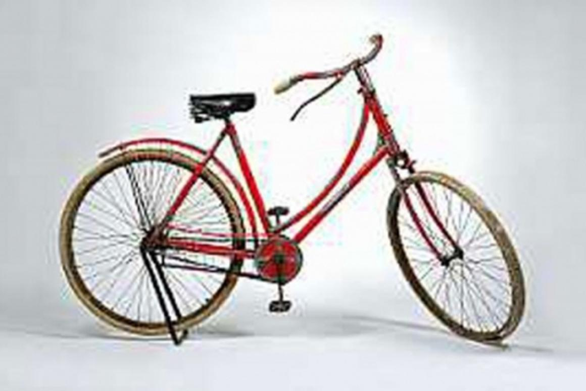 Tiffany & Co. silver-mounted lady's bicycle