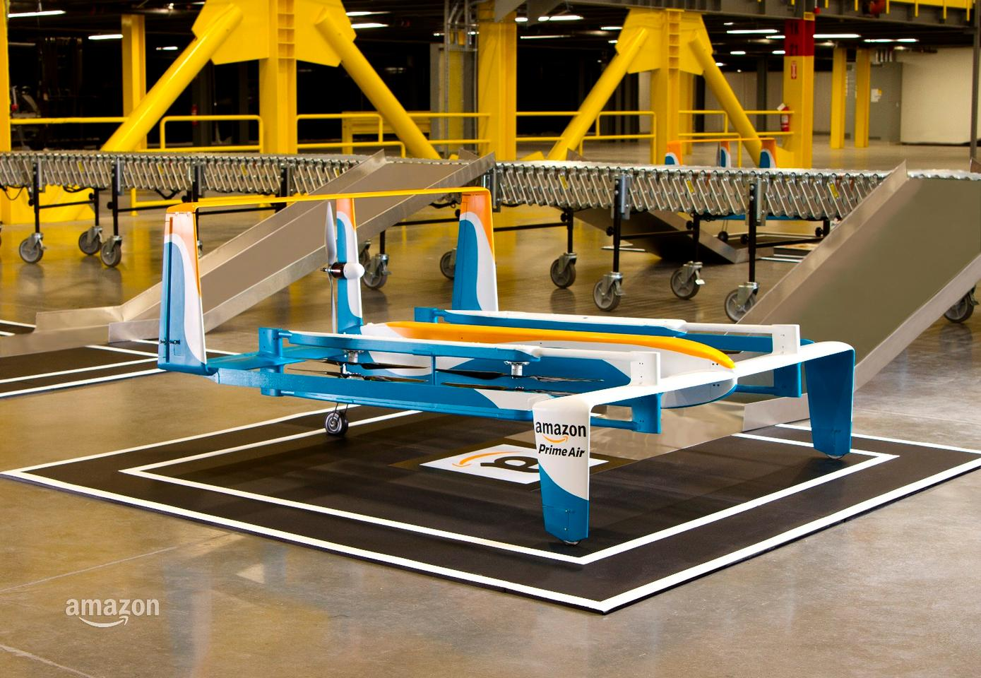 The agreement will enable Amazon to test out the technologies behind its drone delivery service