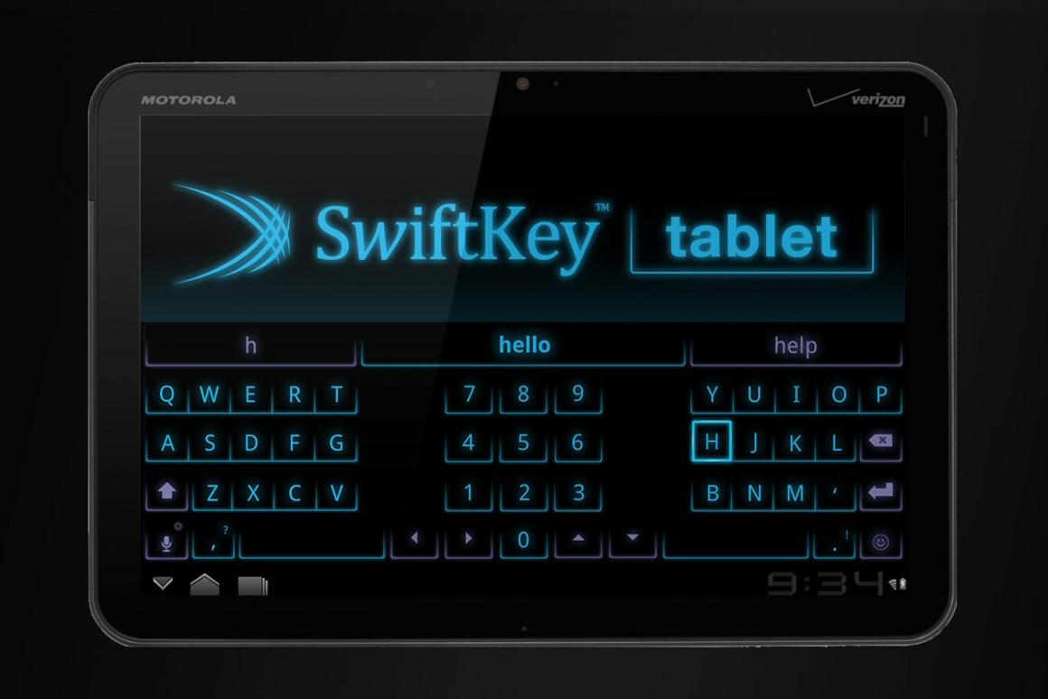 TouchType has announced the release of a new tablet-optimized version of its popular onscreen keyboard app, SwiftKey