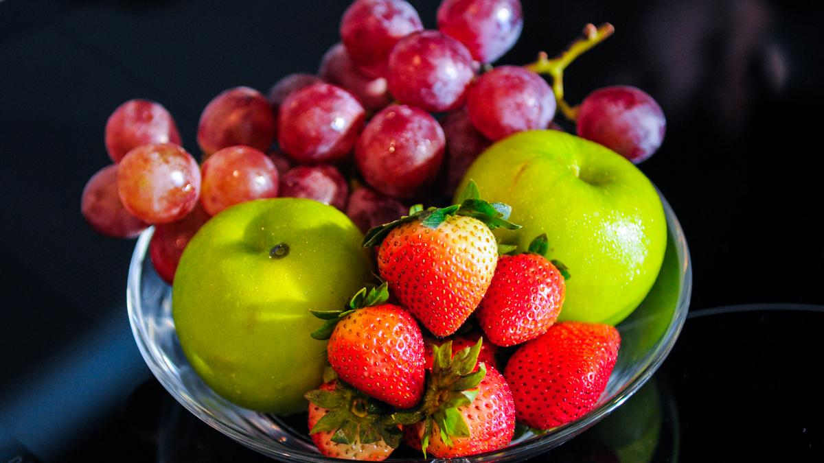 A compound commonly found in fruit and vegetables, including apples, grapes and strawberries, has been found to prevent Alzheimer's disease in mice (Photo: Shutterstock)