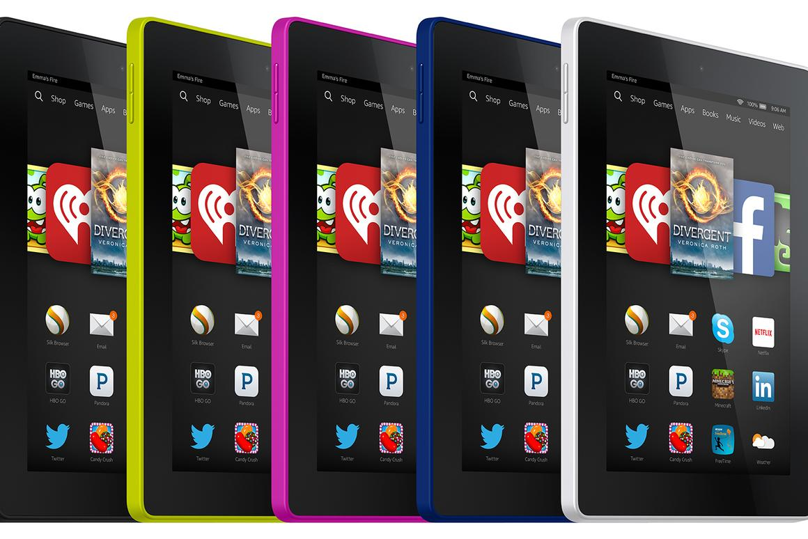 Amazon's new Kindle Fire HD 6 costs just $99