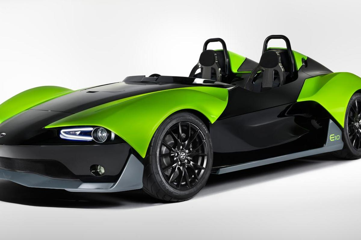 Zenos expects the E10 S to reach a top speed of about 135 mph