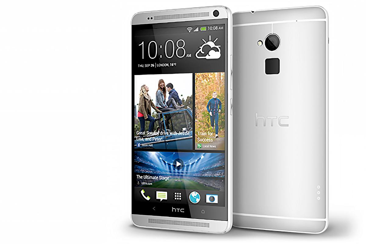 HTC's new One max takes many of the features of the One, and puts them in a gigantic body
