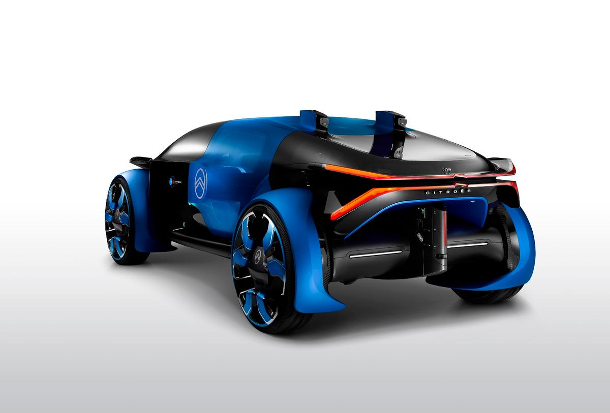 The back end of the Citroen 19_19 concept looks badass