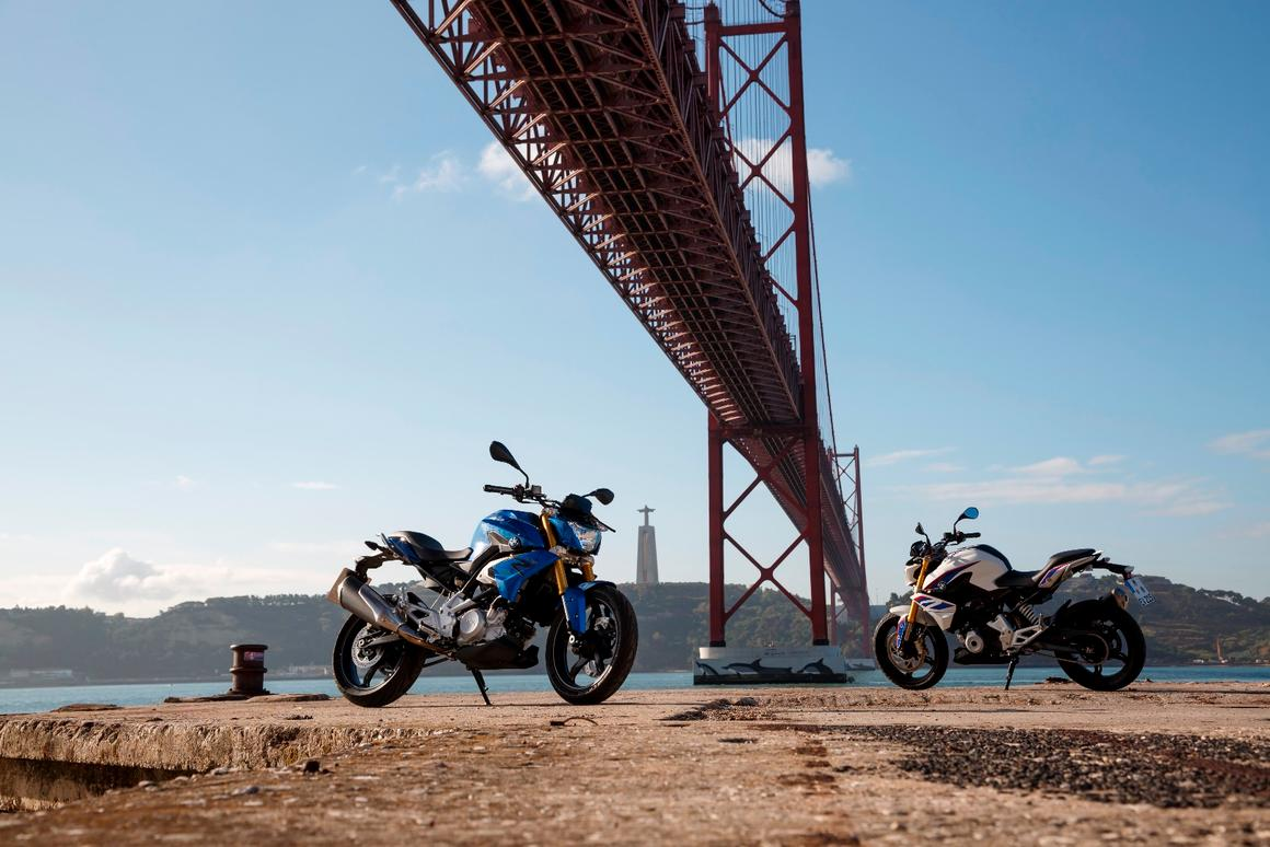 The new BMW G310 R available worldwide the second half of 2016