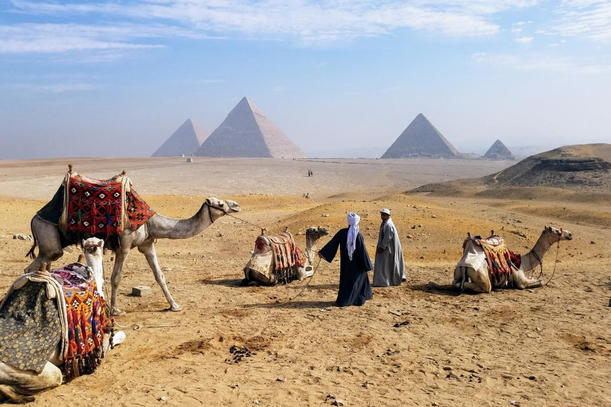 1st place winner in the Travel & Adventure category. Giza Pyramids, shot on a Samsung Galaxy, model unknown