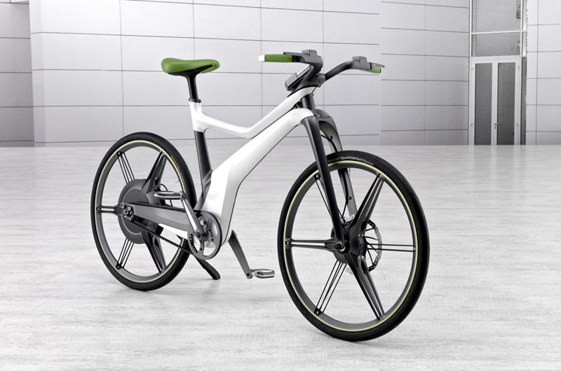 The smart ebike features four assistance levels and four regenerative braking levels