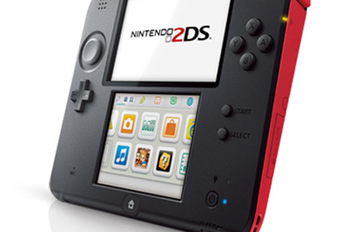 The Nintendo 2DS game console will sell as a cheaper alternative to the regular 3DS