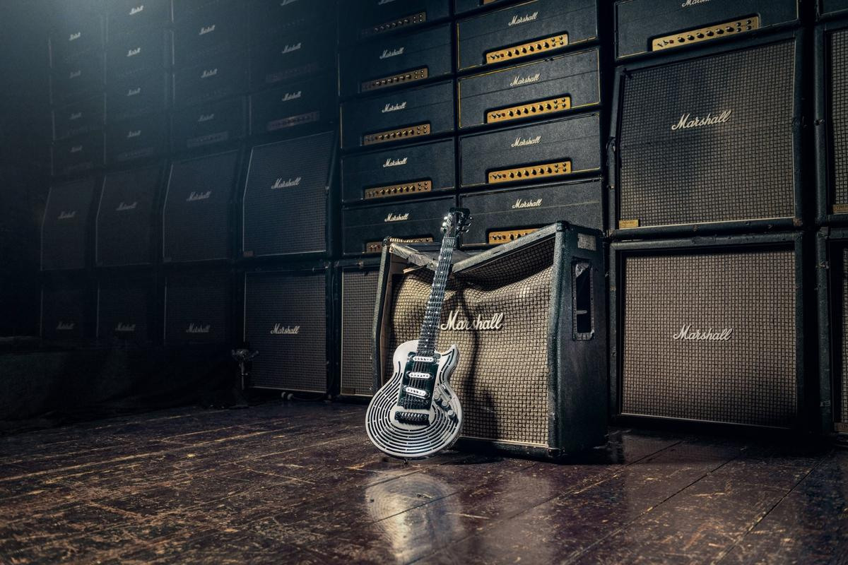 The Smash-Proof Guitar from Sandvik