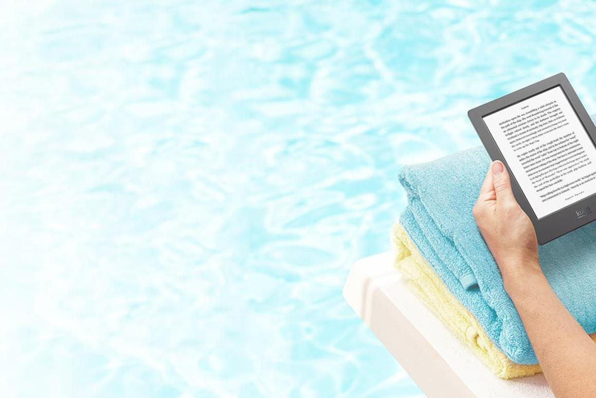 The new Kobo Aura H2O is IP67-certified against water and dust ingress