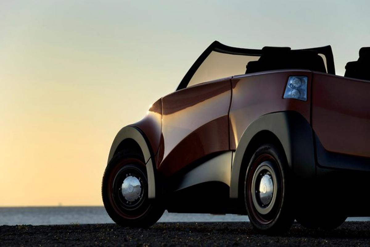 The first EV to use the MECc range extender will be ECOmove's forthcoming QBEAK