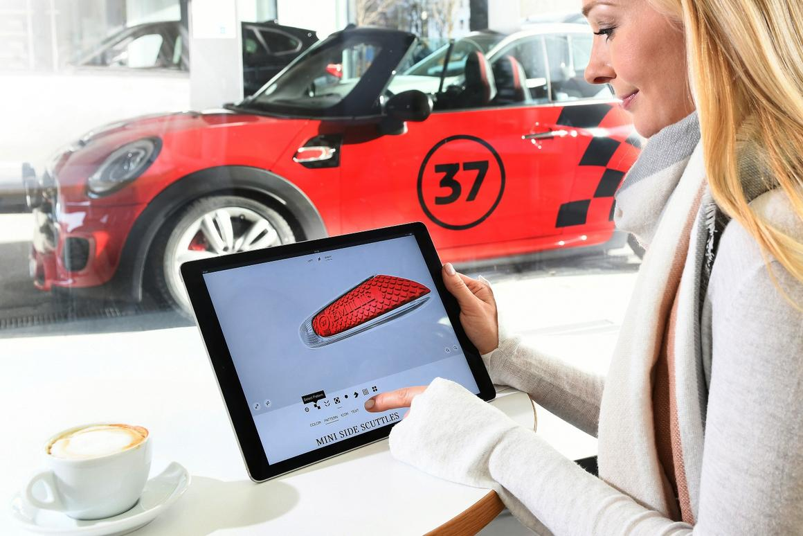 Mini recently launched its Mini Yours Customised range of personalized interior and exterior trim pieces that can be designed through an online shop