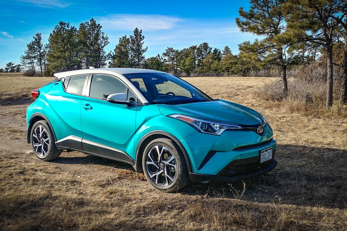 The 2018 Toyota C-HR hits all of the basic checkbox requirements
