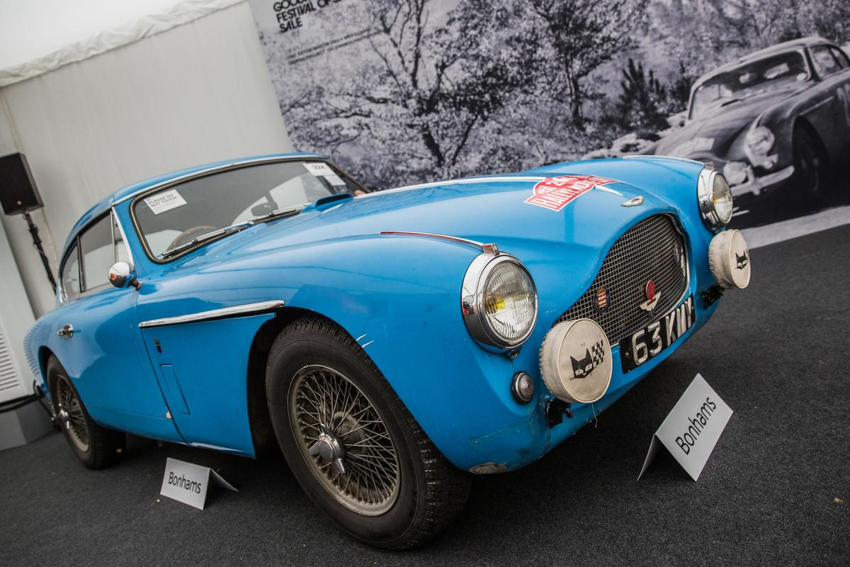 """Thiscarwas known internally at Aston Martin as """"Design Project 193,""""essentially the prototype of the Aston Martin DB MkIII."""""""