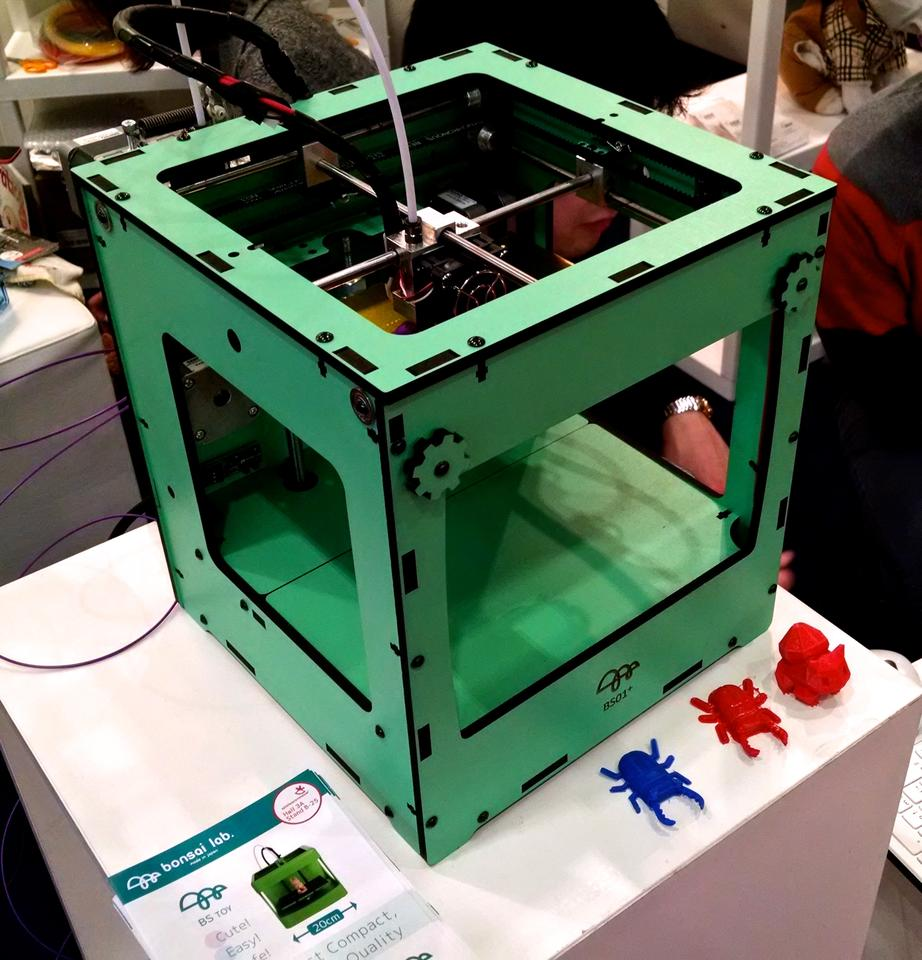 The BS01+ at the Nuremberg Toy Fair (Photo: C.C. Weiss/Gizmag)
