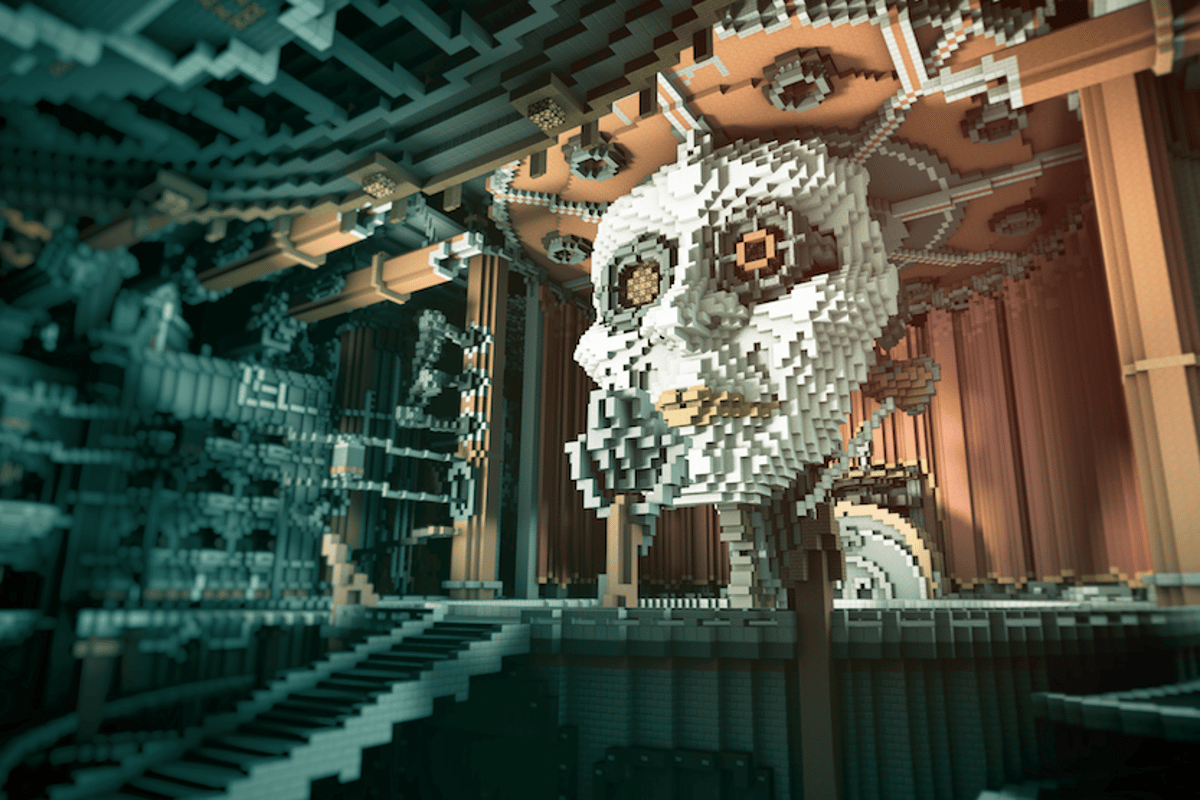 The BlockWorks Team'sAeternium(2013) –15 builders,100 million blocks, sevendays